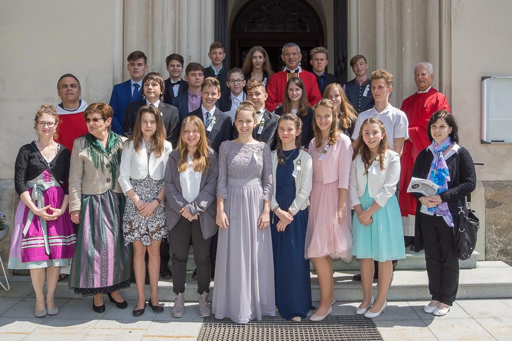 Heilige Firmung in der Stadtkirche Marchegg