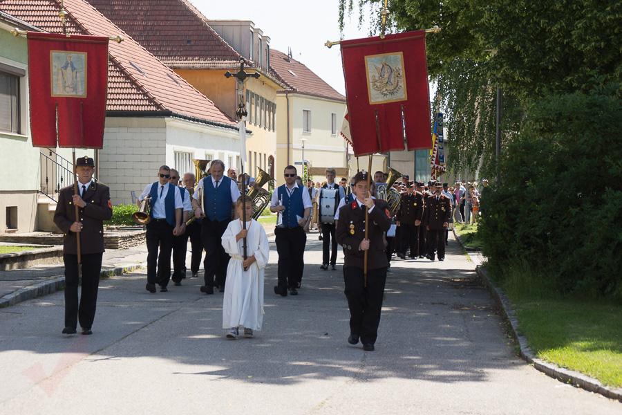 Fronleichnam Marchegg 2018