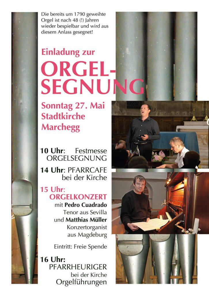Orgelsegnung