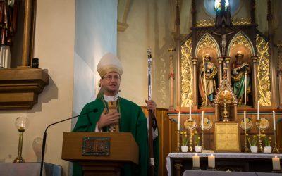 Visitationsmesse mit Weihbischof Stephan Turnovszky