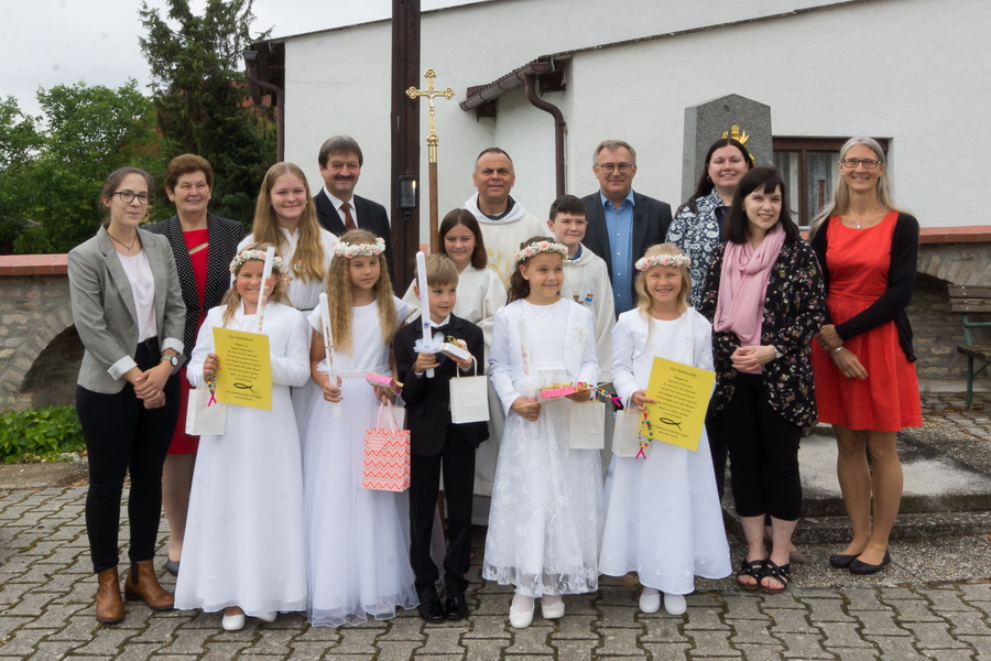 Erstkommunion in Breitensee