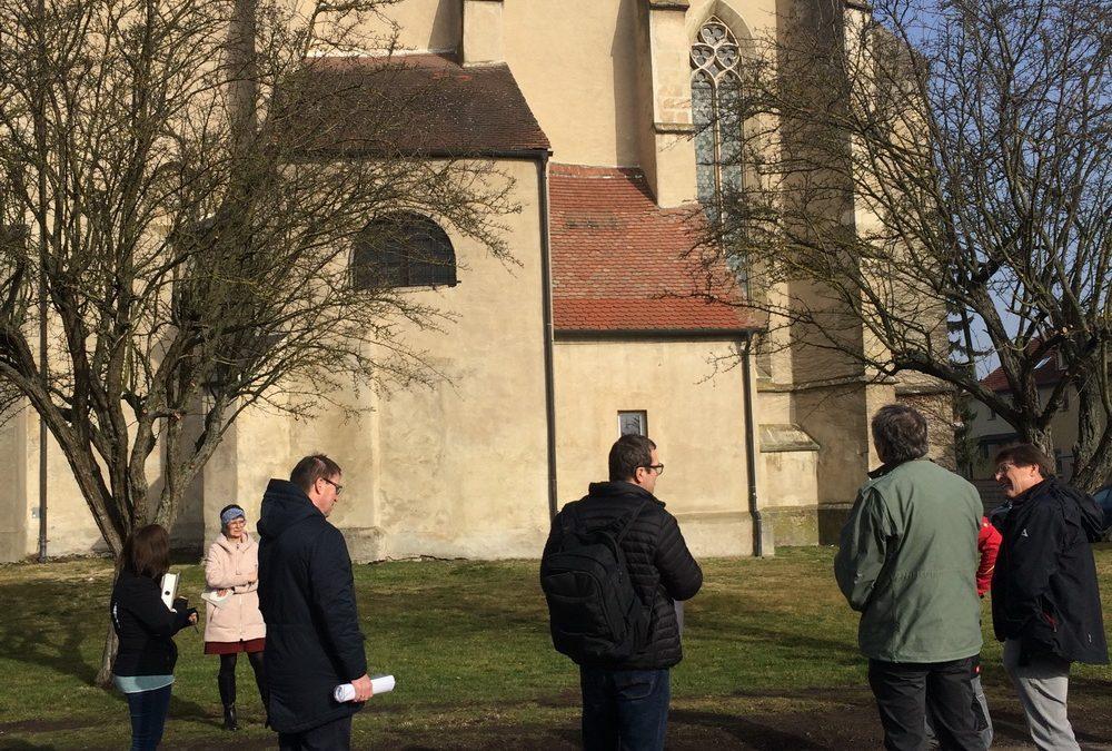 Erste Baubesprechung für die Generalsanierung der Stadtpfarrkirche